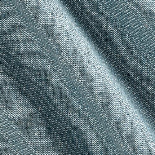 Robert Kaufman 0476436 Essex Yarn Dyed Linen Blend Fabric by The Yard, Metallic Water