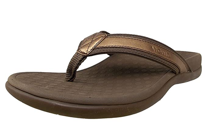 Orthaheel By Womens Vionic Uk Sandal Metallic 9 Tide Ii Bronze Size nmwN80