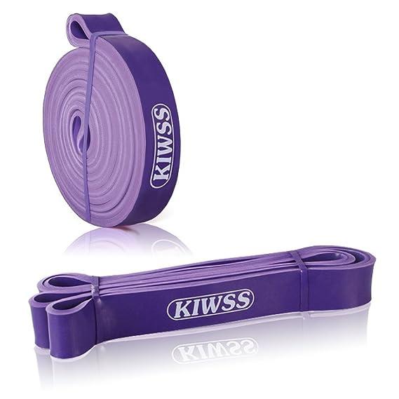 kiwss bands-exercise bandas de resistencia para rehabilitación - para Fitness gimnasio Entrenamiento de Fuerza, Sport, Púrpura: Amazon.es: Deportes y aire ...