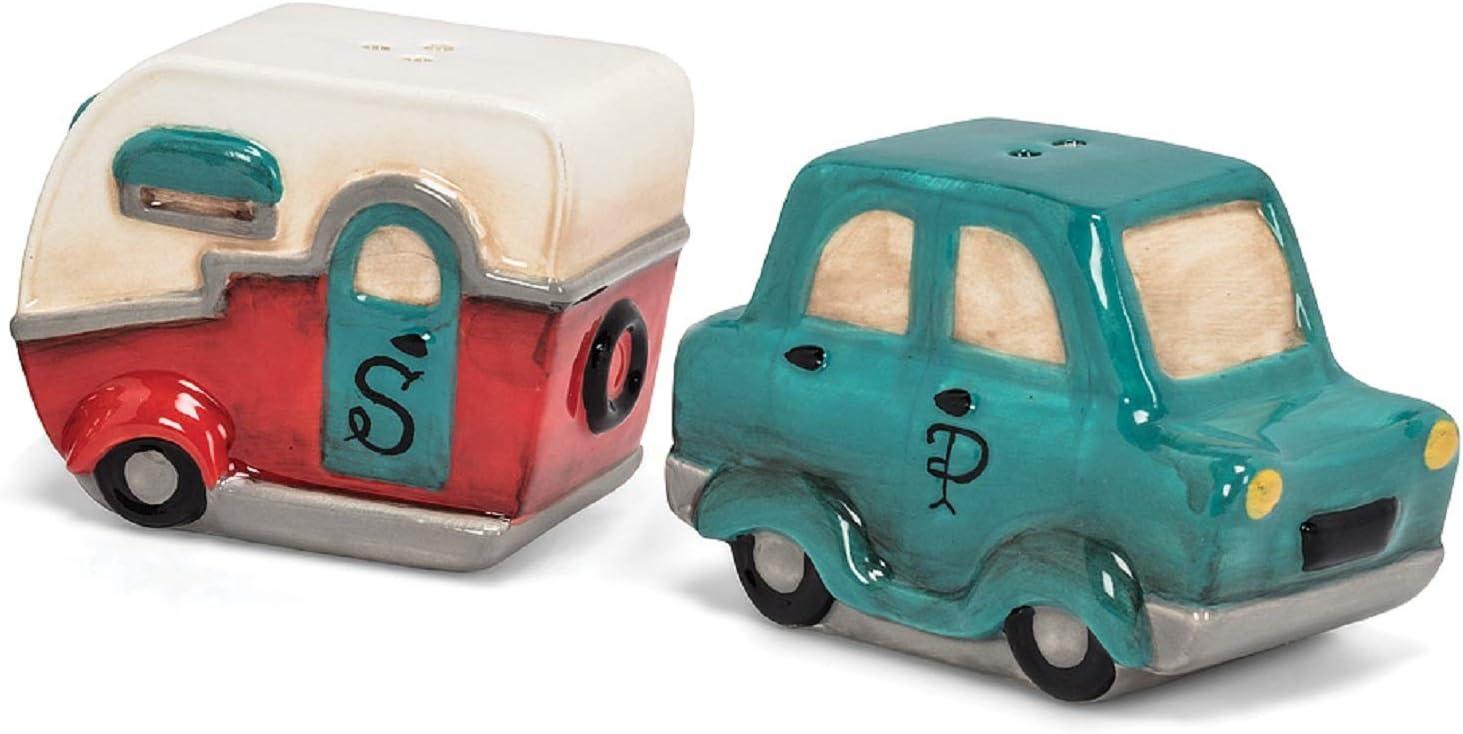 Car//Truck /& Caravan Salt /& Pepper Shakers