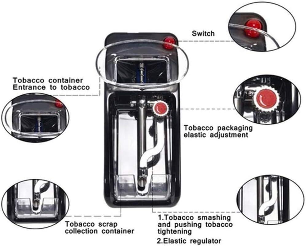 Manuelle Zigarettendrehmaschine F/ür M/änner QDWRF Mini Automat Zigarettenmaschine