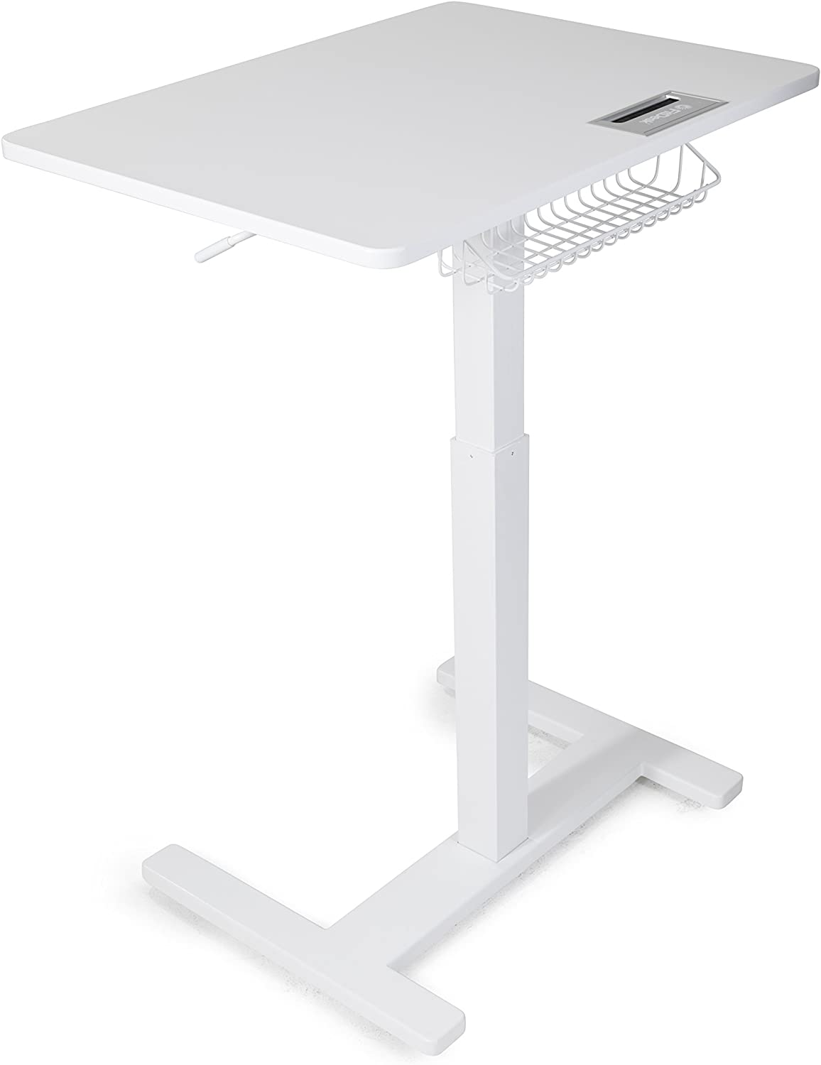 FitDesk Sit-to-Stand Desk, White