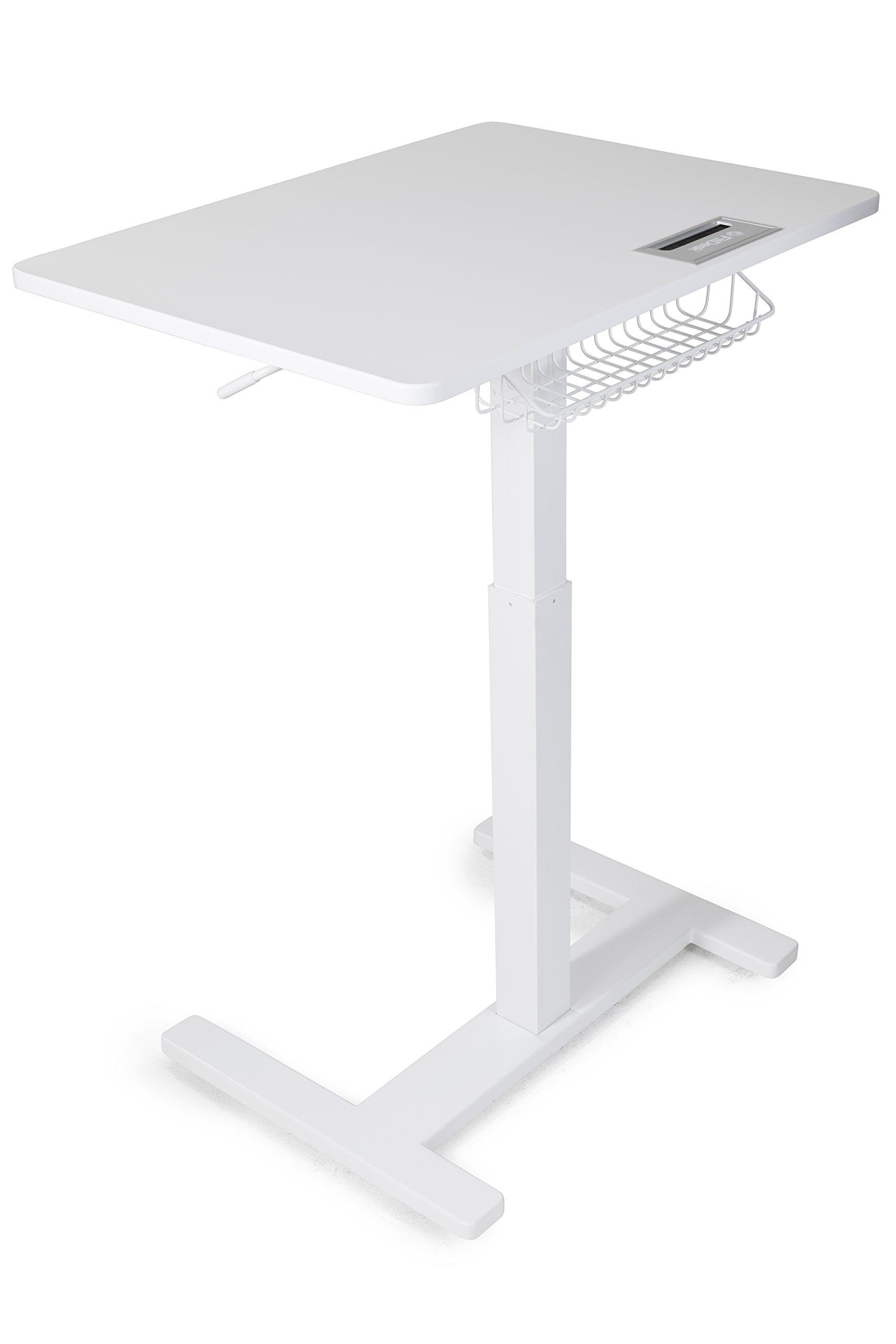 FitDesk Sit-to-Stand Desk, White by FitDesk