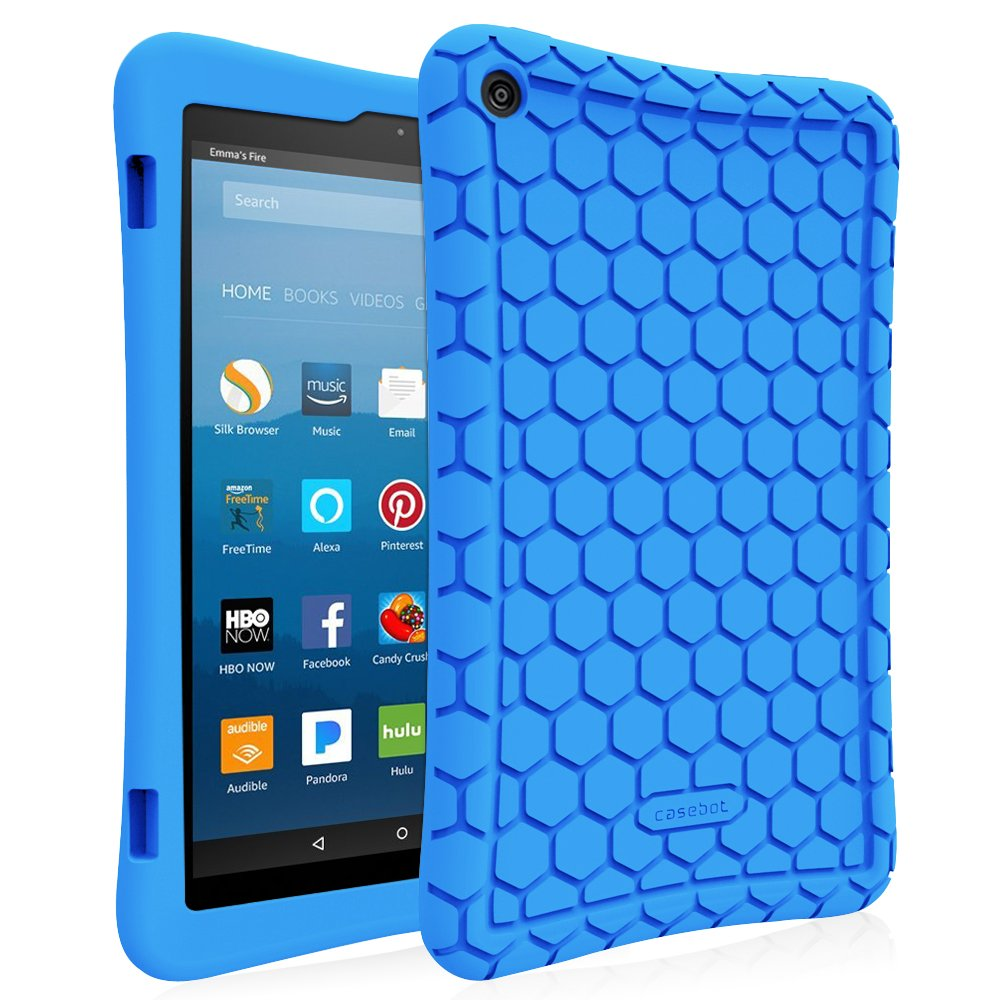 Funda Para Amazon Fire Hd 8 (2017 Y 2018) Azul