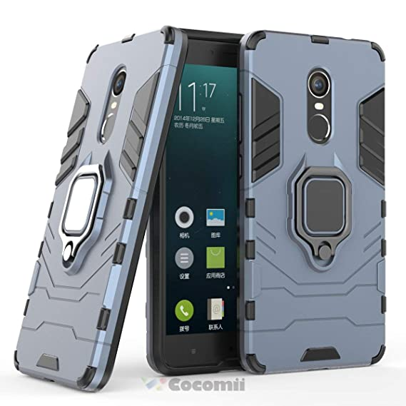 new concept af979 cbd3c Cocomii Black Panther Armor Xiaomi Redmi Note 4/Note 4X Case New [Heavy  Duty] Tactical Metal Ring Grip Kickstand Shockproof [Works with Magnetic  Car ...