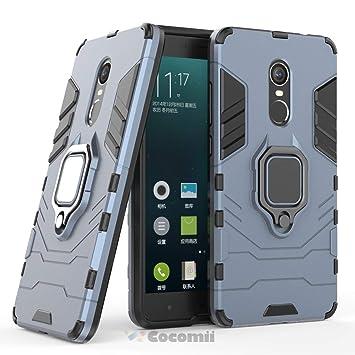Cocomii Black Panther Armor Xiaomi Redmi Note 4/Note 4X Funda Nuevo [Robusto] Anillo Metálico Soporte [Funciona con El Montaje De Coche Magnético] ...