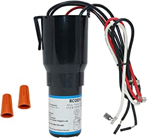 AMI PARTS RCO810 Hard Start Capacitor Kit 3 In 1 Relay Capacitor Overload for Refrigerator
