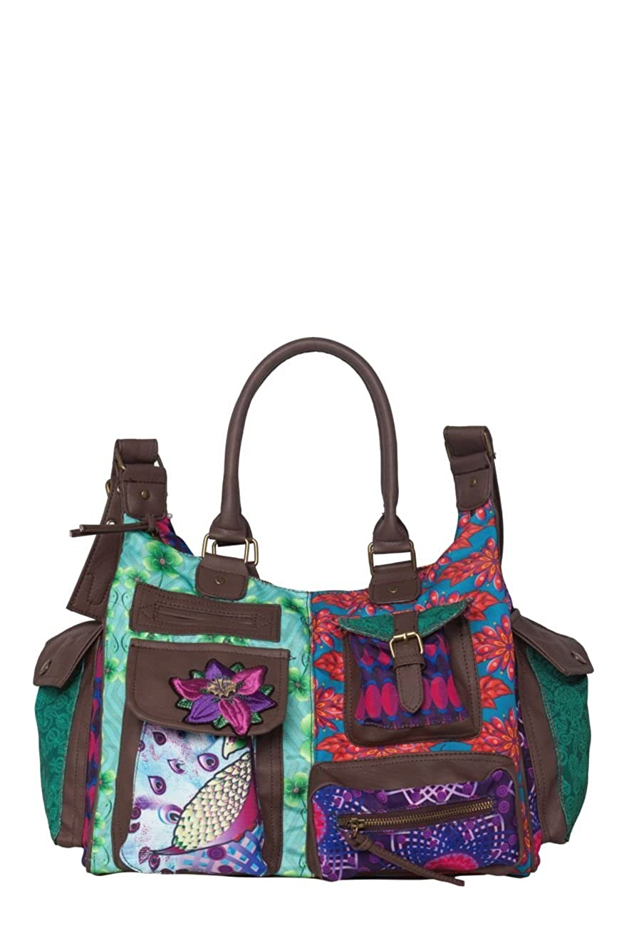 Desigual Tasche London Peacock 31X5149 bunt: