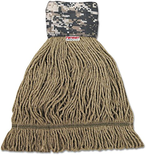 BWK8200L - Boardwalk Patriot Looped End Wide Band Mop Head (End Looped Patriot)