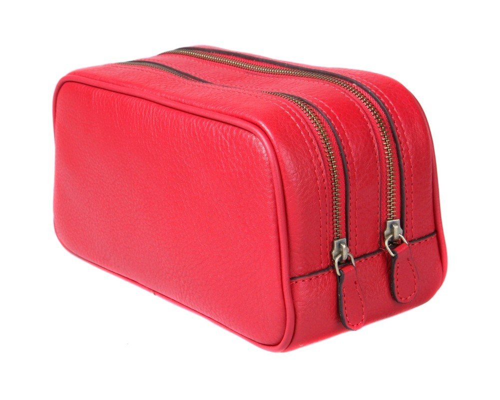 SAGEBROWN Red Toiletry Bag by Sage Brown (Image #1)