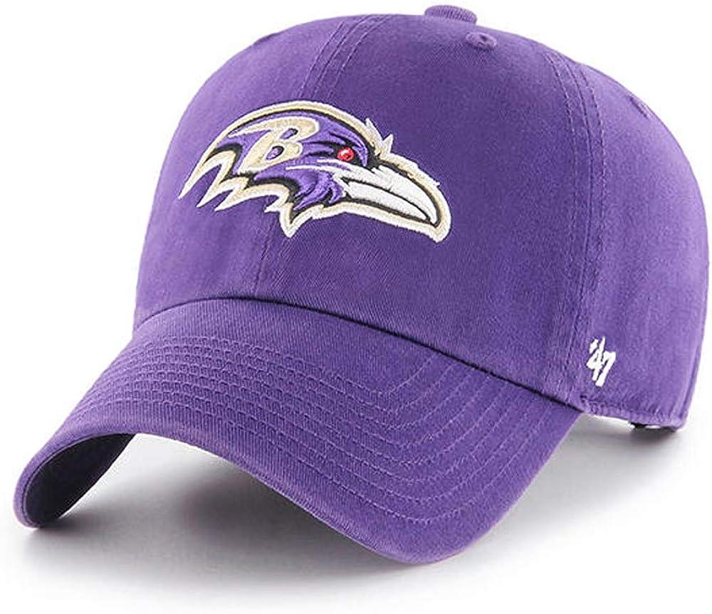 Fan Favorite NFL Baltimore Ravens Clean Up Cap//Hat