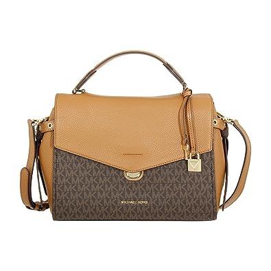 62ebc48803b6 Michael Kors Bristol Ladies Medium PVC Satchel Handbag 30H7GZKS6V: Amazon.co .uk: Shoes & Bags