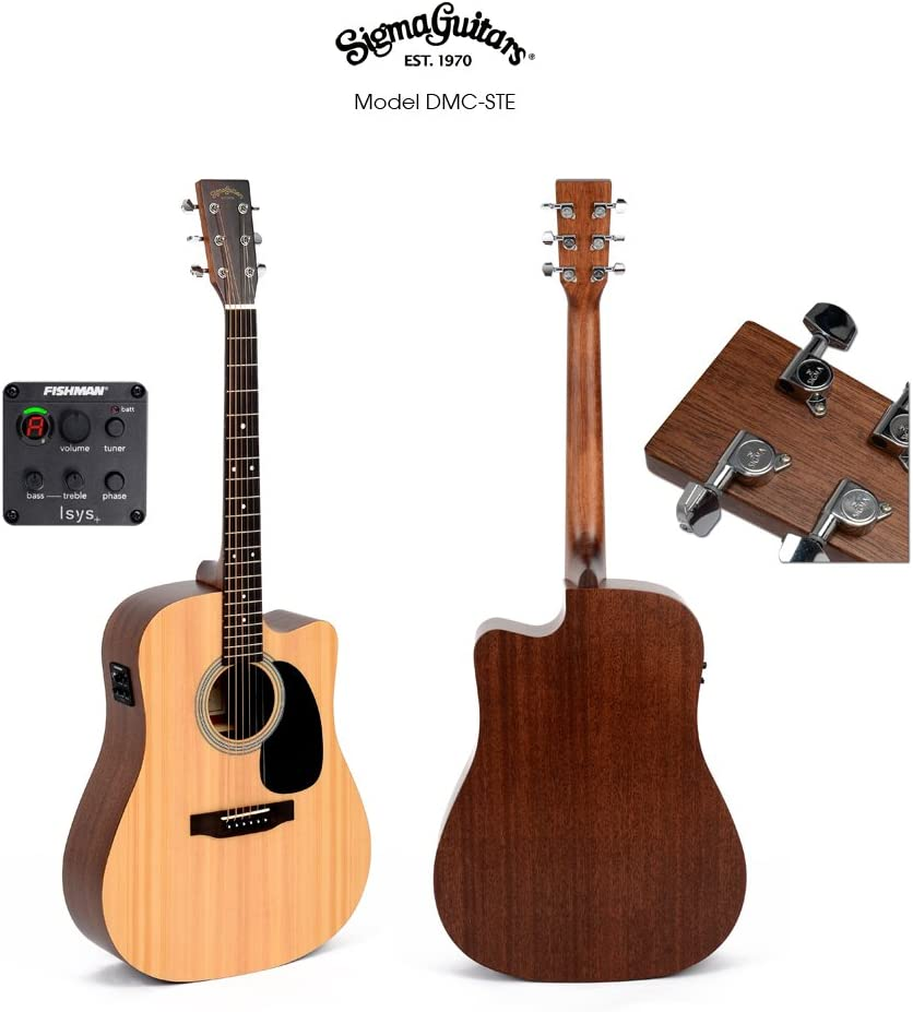 Western de guitarra Sigma DMC de Ste: Amazon.es: Instrumentos ...