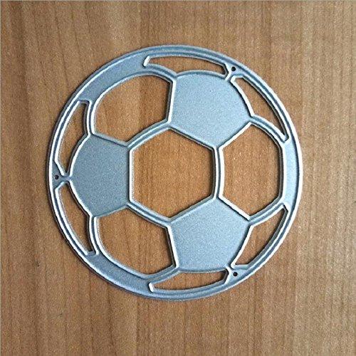 1pc Football Cutting Dies Cut Metal Scrapbooking Stencils Die for DIY Embossing Photo Album Decorative DIY Paper Cards Making Craft