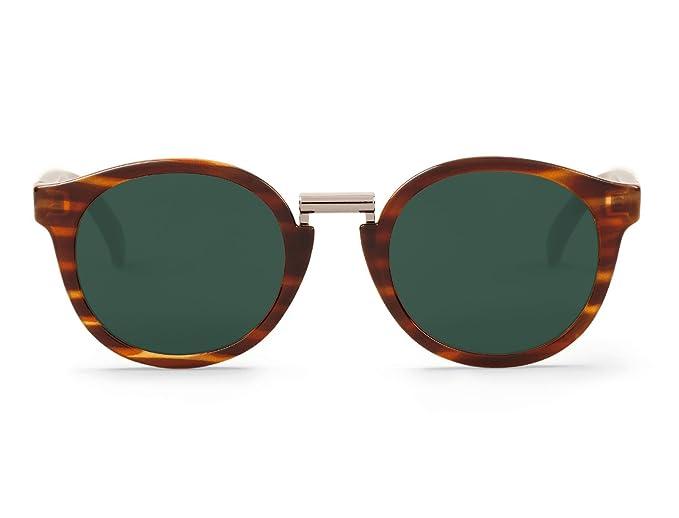 Mr. Boho | Fitzroy | Stripe Tortoise - Gafas de sol para hombre y mujer