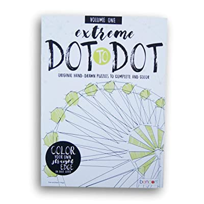 Activity Books Extreme Dot-to-Dot Picture Puzzles - Volume One - 15 Pages: Toys & Games