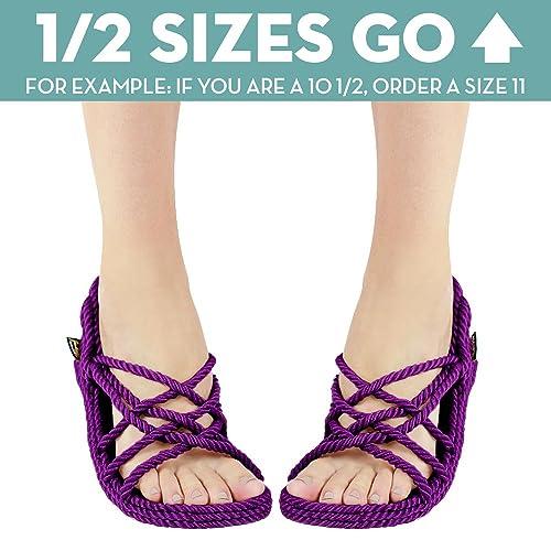 317f3f5a7b8e Gurkee s Rope Sandals Mens - Neptune Style  Amazon.ca  Shoes   Handbags
