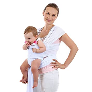 Amazon Com Breathable Baby Wrap Sling Carrier Infant Wrap Toddlers