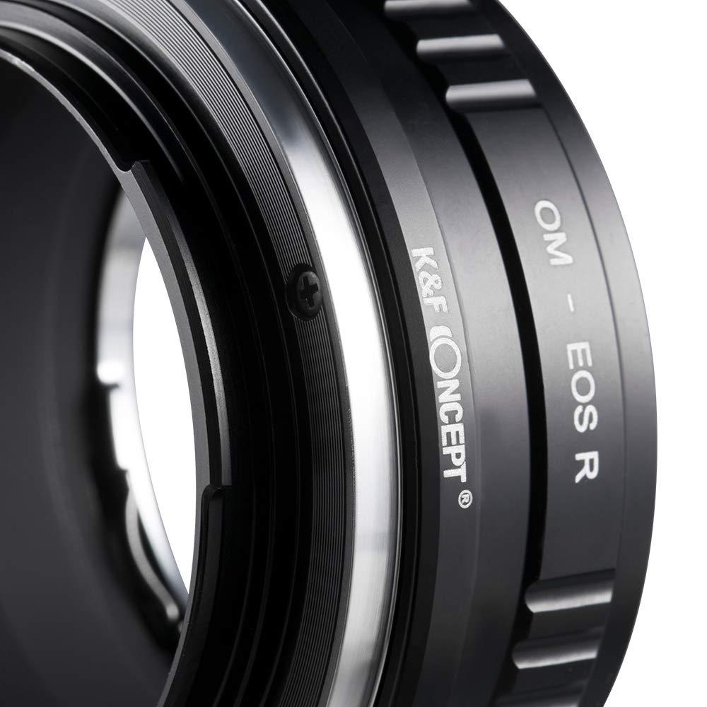 K/&F Concept Anello Adattatore per Obiettivo Pentax K PK a Fotocamera di Canon EOS R Camera PK-EOS R