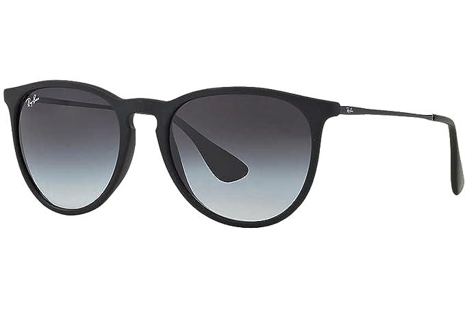 Ray-Ban Rubber Black Erika Sunglasses RB 4171 622/8G 54mm + ...