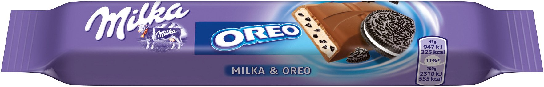 Milka Oreo Chocolate Bar (24 x 41 g)