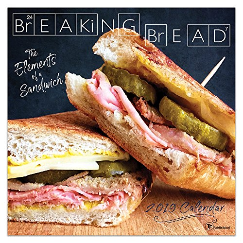"Time Factory Breaking Bread 12"" x 12"" January -December 2019 Wall Calendar (19-1065) by TF Publishing"