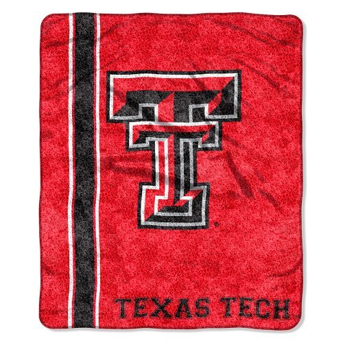 """The Northwest Company Officially Licensed NCAA Texas Tech Red Raiders Jersey Sherpa on Sherpa Throw Blanket, 50"""" x 60"""""""