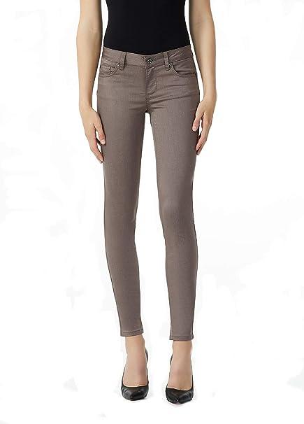 7efa66bed7ec Liu Jo Bottom Up Jeans Donna  Amazon.it  Abbigliamento