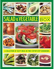 Salad and Vegetable Cooking Box: A Collection of Tasty Ideas in Two Step-By-Step Cookbooks