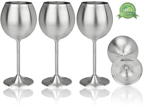 Popular Amazon.com | Modern Innovations Stainless Steel Stemmed Wine  LP56