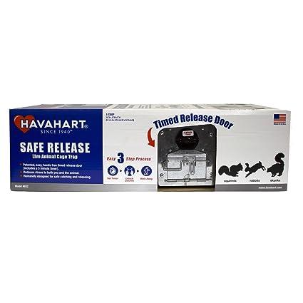 Amazon.com: Havahart pequeño Animal jaula trampa con mando a ...