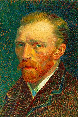 Eaters The Gogh Vincent Van Potato (Vincent Van Gogh Self Portrait Spring 1887 Art Print Poster 12x18 inch)