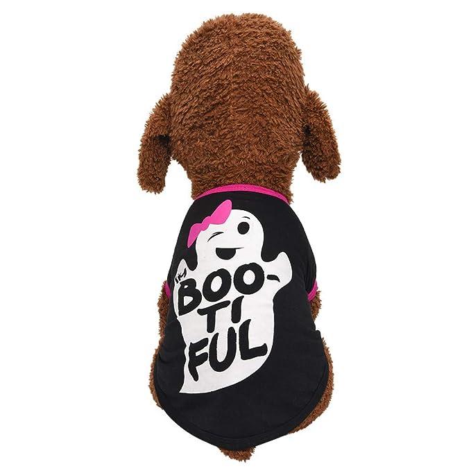 FunDiscount disfraz de Halloween para mascotas, playeras para ...