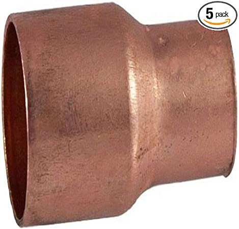 Libra Supply 3/'/' x 2/'/' inch Copper Coupling Bushing Fitting Reducer FTG x C