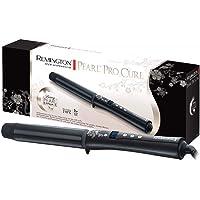 Remington Lockenstab Pearl CI9532, 32 mm für große Locken, LCD-Display, hochwertige Keramikbeschichtung mit echten Perlen, schwarz