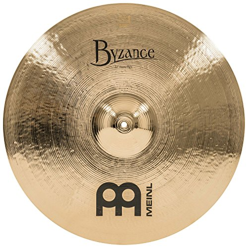 Meinl Cymbals B22HR-B Byzance 22-Inch Brilliant Heavy Ride Cymbal (VIDEO)