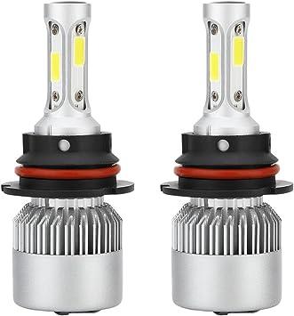 2Pair LED Combo Dual Beam Headlight /& Fog Light Bulb 9003 /& 9006 K 6000K White