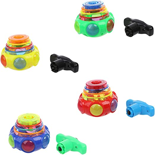 RG-FA New Colorful Light Music Gyro Peg-Top Arena Spinning Tops ...