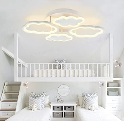 Clouds LED Ceiling lights, creative boys and girls, room ...