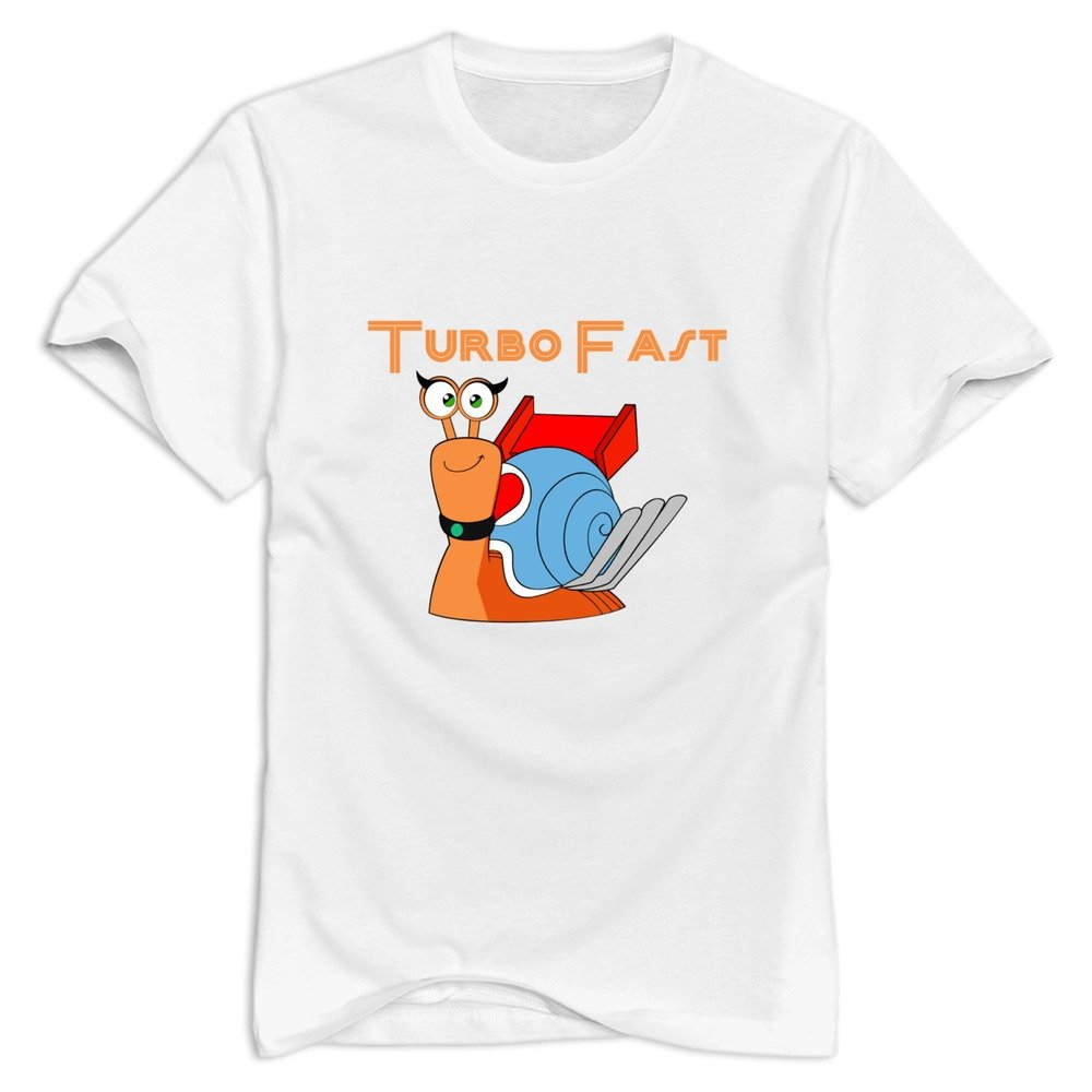 Amazon.com: Turbo Fast Fashion O-Neck White T-shirt For Men Size M (6262388887060): Books