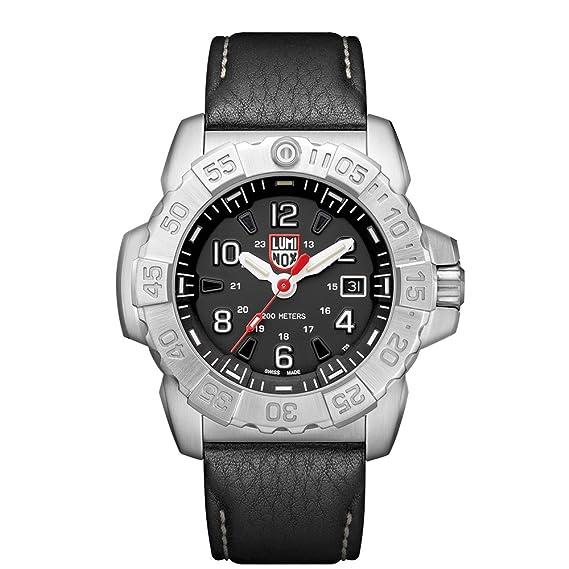 Luminox Reloj Analogico-Digital para Hombre de Cuarzo con Correa en Cuero XS.3251