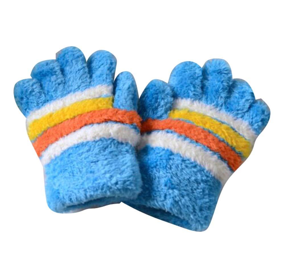 Children Warm Gloves Boys Girls, Five-Finger Gloves(1-3 Years Old),D3 Dragon Sonic