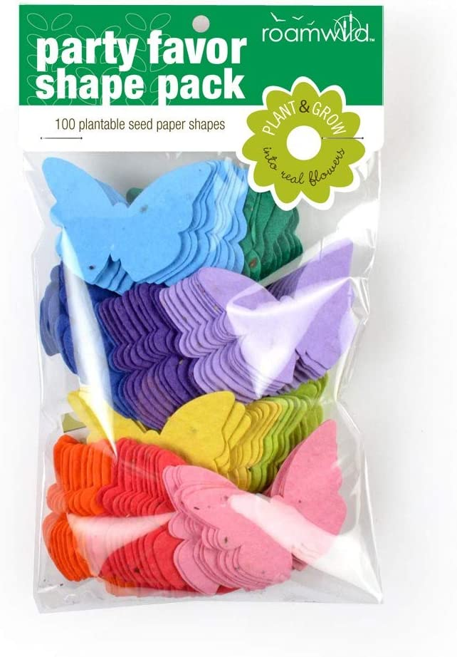 Seeded Paper Shapes Bunny Pack of 100 Plantable Seed Paper Shapes