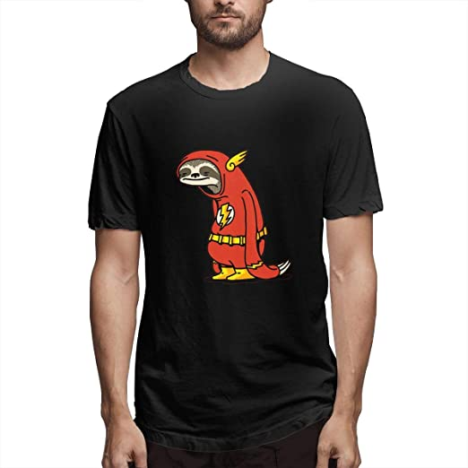 15a9075b XKCL Funny Sloth Shirt The Flash The Neutral Designed T Shirts 100% Cotton  for Man