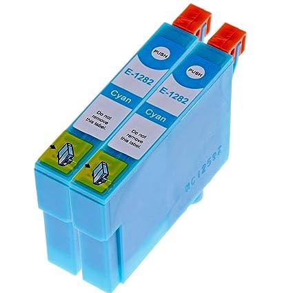 2 Cartuchos de Tinta para Epson T1292, T 1292 con chip Epson ...