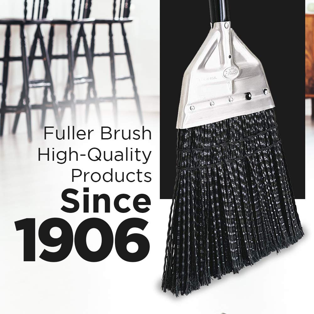 Fuller Brush Broom - Premium Grade Heavy Duty Straight Surface Sweeper w/ Chemical & Grease Proof Bristles For Sweeping All Floor Types Indoor & Outdoor by Fuller Brush (Image #9)