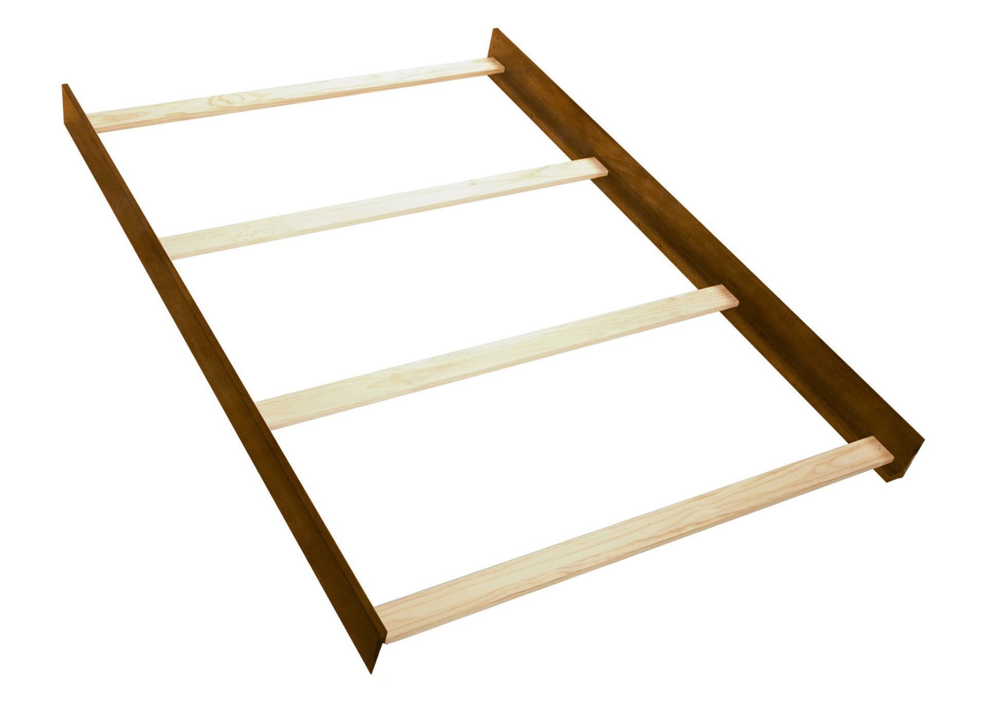 Full Size Conversion Kit Bed Rails for Bertini Baby Cribs (Natural Rustic