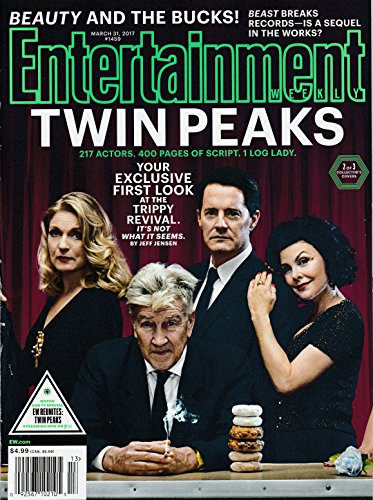 Entertainment Weekly Magazine (March 31, 2017) Twin Peaks Cover 2 of 3