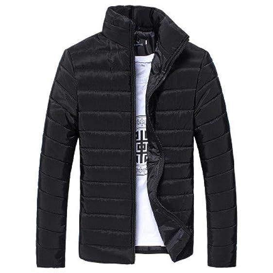 Amazon.com: Male Bubble Coat,Sikye Mens Winter Cotton Ultra Light ...