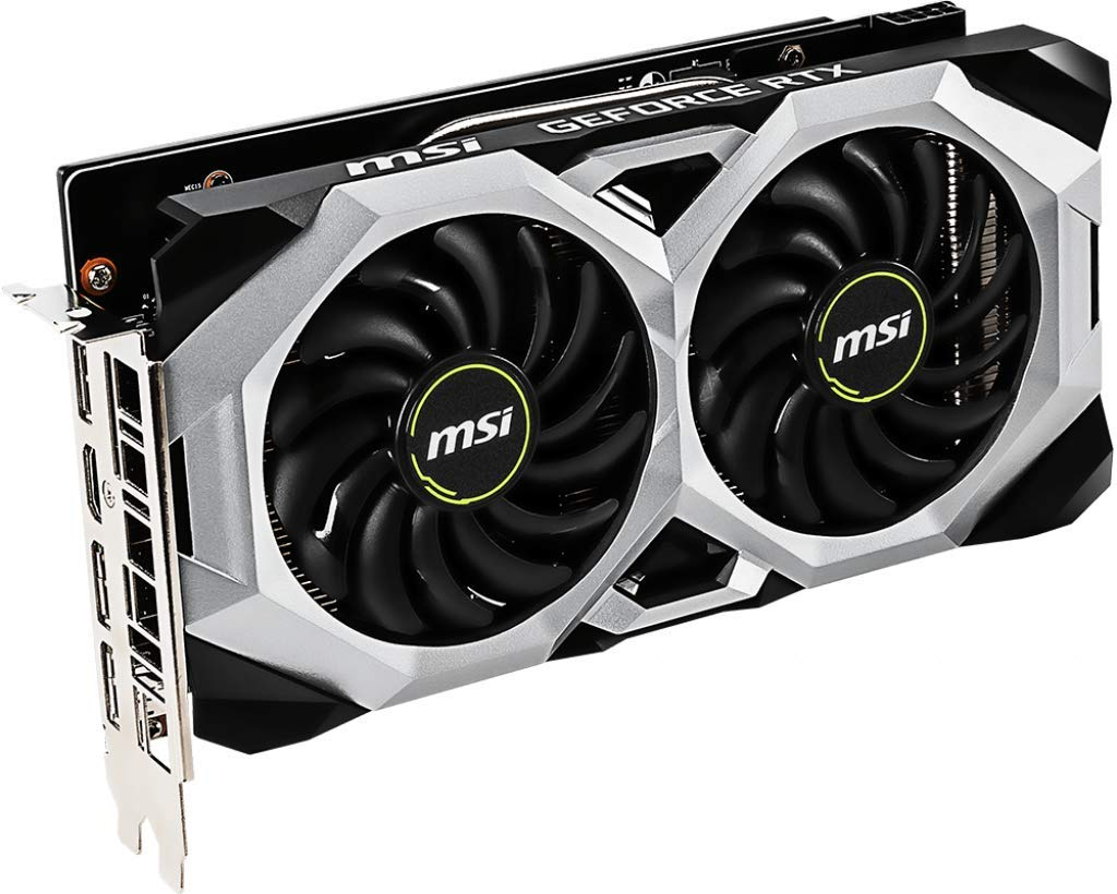 MSI GAMING GeForce RTX 2060 6GB GDRR6 192-bit HDMI/DP Ray Tracing Turing Architecture VR Ready Graphics Card (RTX 2060 VENTUS 6G OC) by MSI (Image #3)